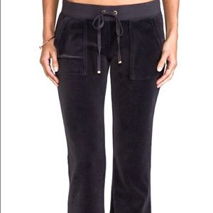 🖤 Juicy Couture Black Velour Pants